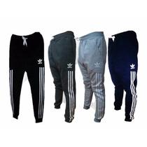 X 2 Pantalon Chupin Jogging Hombre Deportivo Adidas