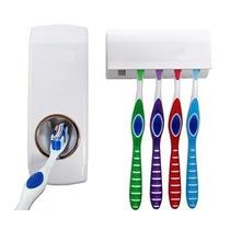 Dispenser Automático De Pasta De Dente + Porta Escovas Dente