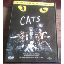 Cats 2 Dvds Musical De Andrew Lloyd Webber Made In Mexico