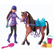 Barbie Y Sus Hermanas En Un Pony Tale Skipper Y Caballo Doll