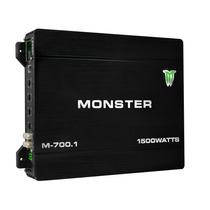 Potencia Monster Monoblock 1500w Amplificador M-700.1