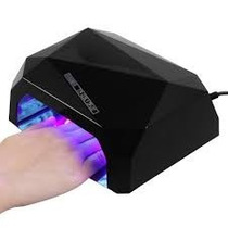 Lámpara Led Y Uv De 36 Watts Uñas Acrílico Gelish
