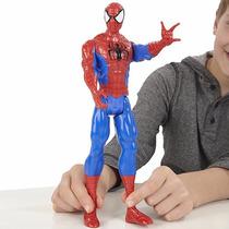 Boneco Homem Aranha Ultimate Vingadores C/som,luz E 30cm