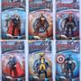 Muñecos Super Héroes Cap America Hombre Araña Batman Hulk