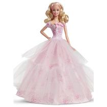 Boneca Barbie Colecionável Feliz Aniversário 2016 Mattel