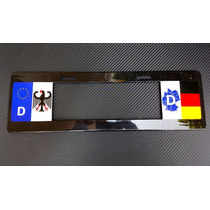 Porta Placa Europeo Alemania Audi Vw Bmw Mercedes 1 Pza