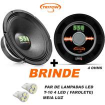Triton 550w Rms 12 Pol/ 4 Ohms Alto Falante C/ Nota + Brinde