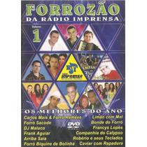 Dvd Forrozao V.1 Carlos Mais, Forro Remexe, Sacode, Bonde Do