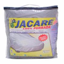 Capa Para Cobrir Carro Jacaré 100% Forrada E Impermeável G