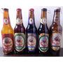 Colección 5 Porrones Cerveza Artesanal Barba Roja 3 C/ Líq