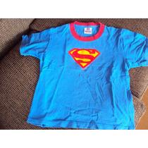 Hermosa Polera Superman Talla 6