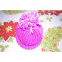 Gorro Tejido Para Bebe Niña Crochet Estambre Antialergico