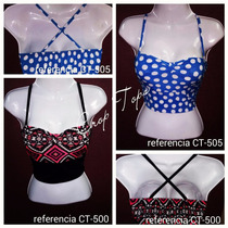 Crop Tops Femeninos Sbk