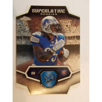 Mikel Leshoure Rookie Superlative Toppschrome 11 Lions