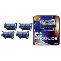 Carga Gillette Proglide Fusion Com 4 Cartuchos