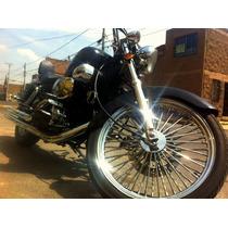 Moto Chopper Colt Vento 250 Cc Negra Modelo 2012