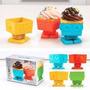 Molde Silicon Para Cupcakes Y Mas Yumbots Robot, Caja 4 Unid