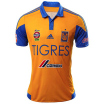 Playera Tigres Local Ml 2015/2016 Hombre Adidas S29561