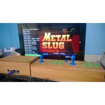 Multijuegos 1200 Juegos Arcade Casero Con Joystick 2 Players