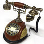 Aparelho De Telefone Antigo Retrô Decorativo Vintage