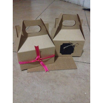 Cajas Kraft Box Lunch 10 Pz.