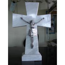 Cruz De Mármol C/cristo, Panteón, Altar, Día De Muertos Vv4