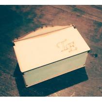 Cajas De Te,mdf,fibro Facil, Personalizadas, 2 Divisiones