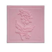 Molde De Silicon Estampar Jabon Rosa Flor