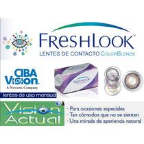 Lentes De Contacto Freshlook Colorblends Originales Sellados