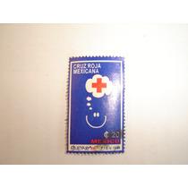 Estampilla Correos Mexico Cruz Roja Mexicana 1996 20 Cts