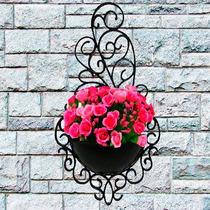 10 Vasos Arandela Plantas Suspenso Vertical Decorativo Horta
