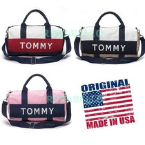 Bolsas Tommy Hilfiger Duffle Mini Etiqueta Cores Original