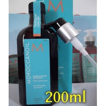 Moroccanoil - Kit Óleo De Argan 200ml + Mascara Hidr. 250ml