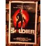 The Soldier. Afiche Cine Original Norteamericano.