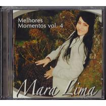 Cd Mara Lima - Melhores Momentos - Vol 4 | Duplo Cd+playback