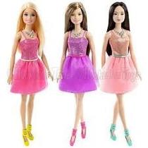 Boneca Barbie Sortidas Glitter Modelo Novo - T7580 Mattel