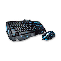 Kit Teclado Mouse Gamer Noga Game Retroiluminado Usb