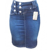 Saia Jeans Evangélica C/ Lycra Lote 10 Und Promoção