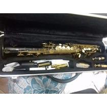 Sax Soprano Prince Com Boquilhas Meyer E Selmer