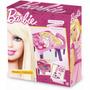 Mesa Infantil Para Estudo Mesinha Com Cadeira Barbie Fun