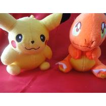 Peluches Pokemon Pikachu Y Charmander Se Venden Por Separado
