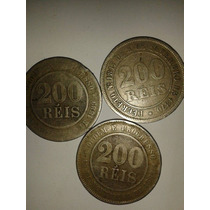 Moeda Rara 200 Réis 1870 E 1889