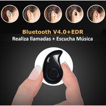 Mini Audífono Manos Libres Bluetooth V4.0 Inalambrico