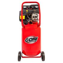 Compresor 3.5 Hp, Tanque 50 Lts Vertical Herramienta Goni