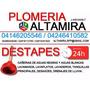 Plomeros Maracaibo Experto En Destape De Cañerias (garantia)