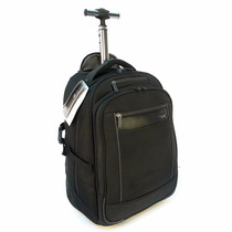 Mochila Samsonite Porta Notebook Laptop Con Carro Y Correas