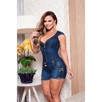 Macacão Pit Bull Jeans Modelagem Perfeita Ref.20670