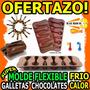 Wow Molde Flexible Cucharitas El Par Chocolate Galleta