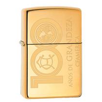 Encendedor Zippo America Dorado 100 Años Club Coleccion Oro