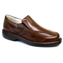Sapato Couro Pele De Carneiro Sola Massageadora Anti Stress